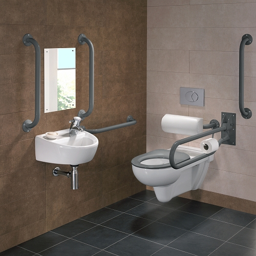 Toilets for disabled persons malta