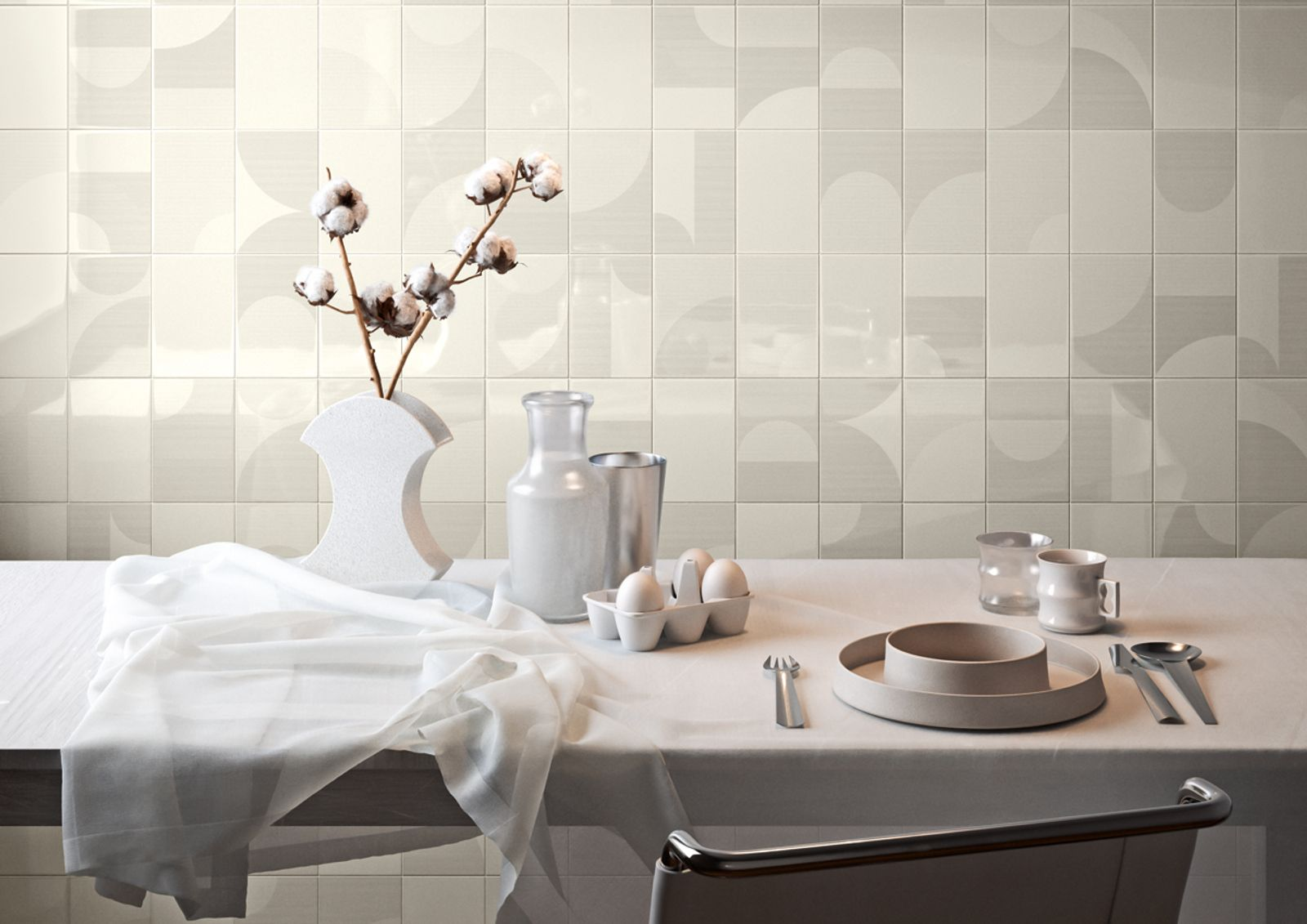 Bathroom wall tiles from B&M