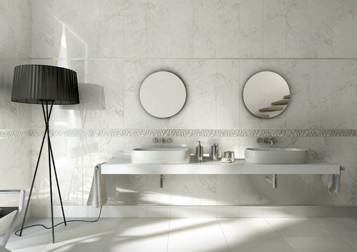 Wall tiles for bathrooms in Malta