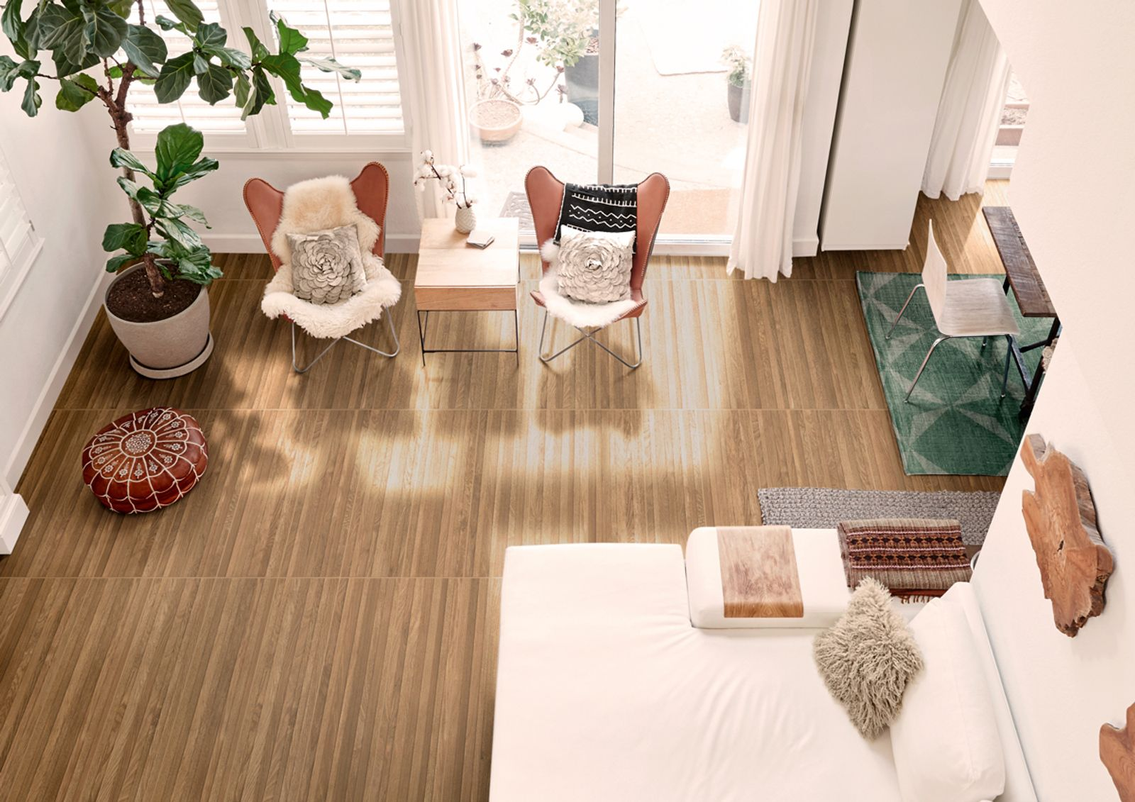 Ligth Wood Effect TIles available in Malta
