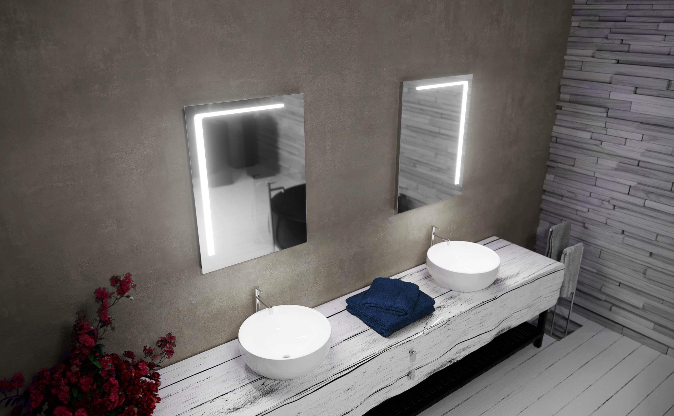 Mirrors for bathrooms available in Malta