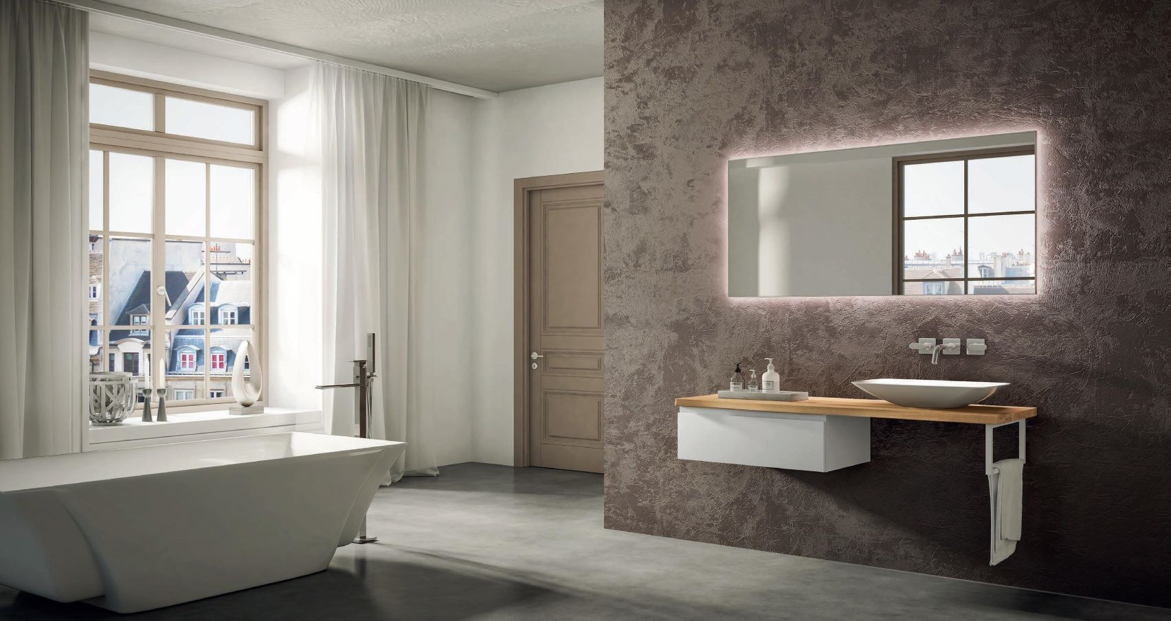 Light Bathroom Furniture