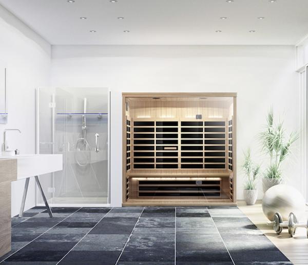 Modern home Sauna from B&M