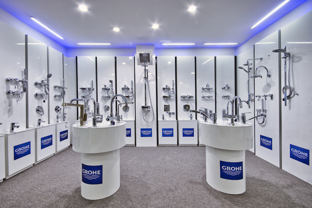 Grohe is the best brand for bathrooms