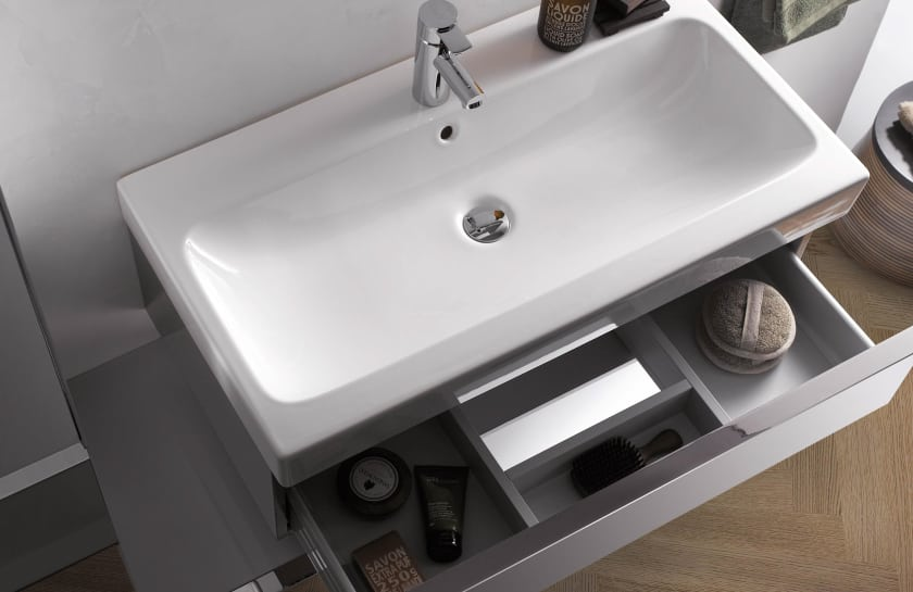 Geberit Icon Cabinet For Washbasin With Two Drawers B M Supplies Ltd
