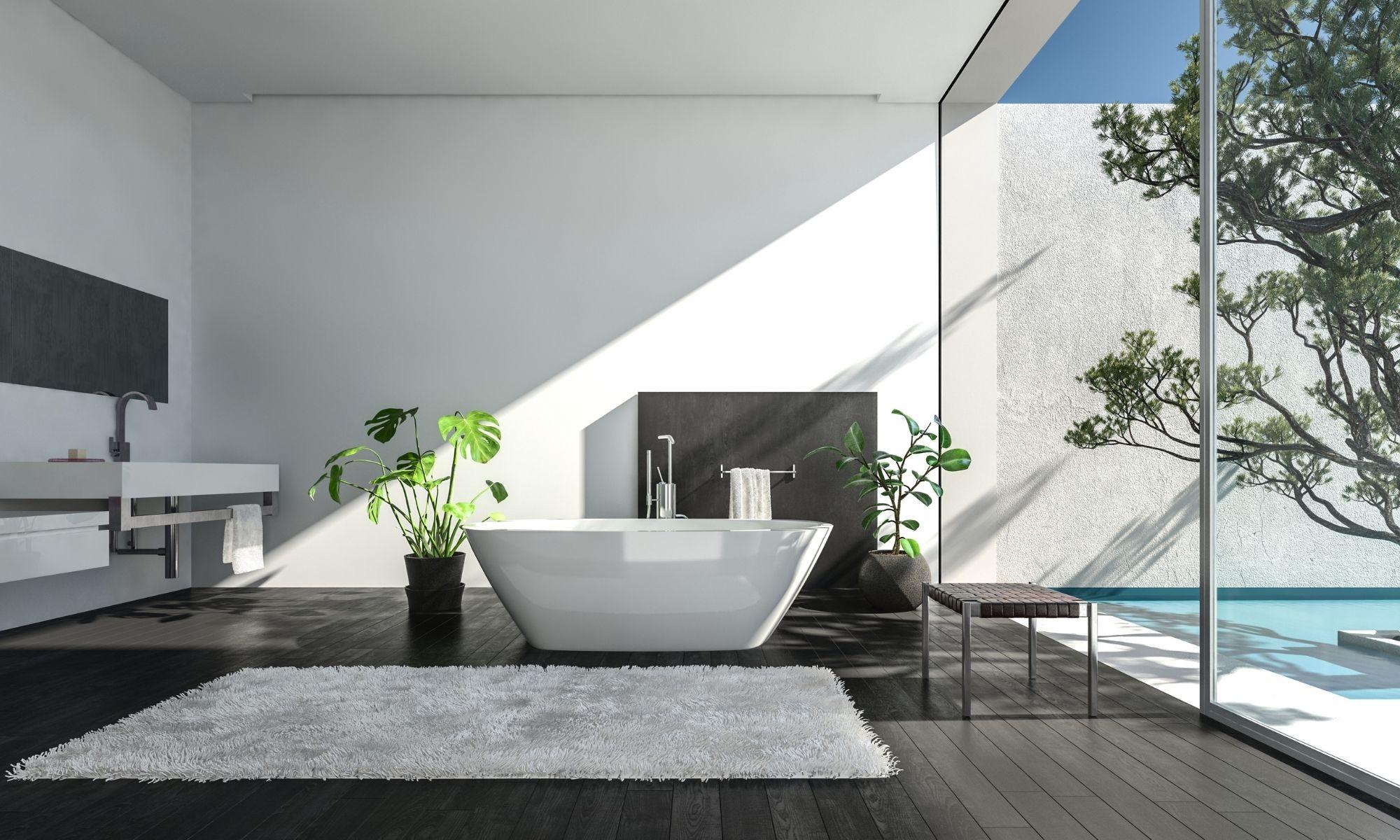 Luxury modern bathroom malta